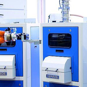 Herzog Maschinenfabrik: HP-P: Automatic pellet press